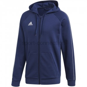 Bluza rozpinana - adidas - Core Zip Hoody -  FT8069
