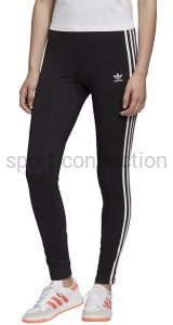 getry damskie adidas 3 stripes tight czarne fm3287