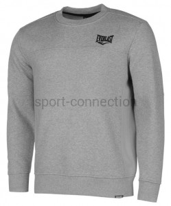 Bluza - Everlast - Crew Sweat - jasnoszara